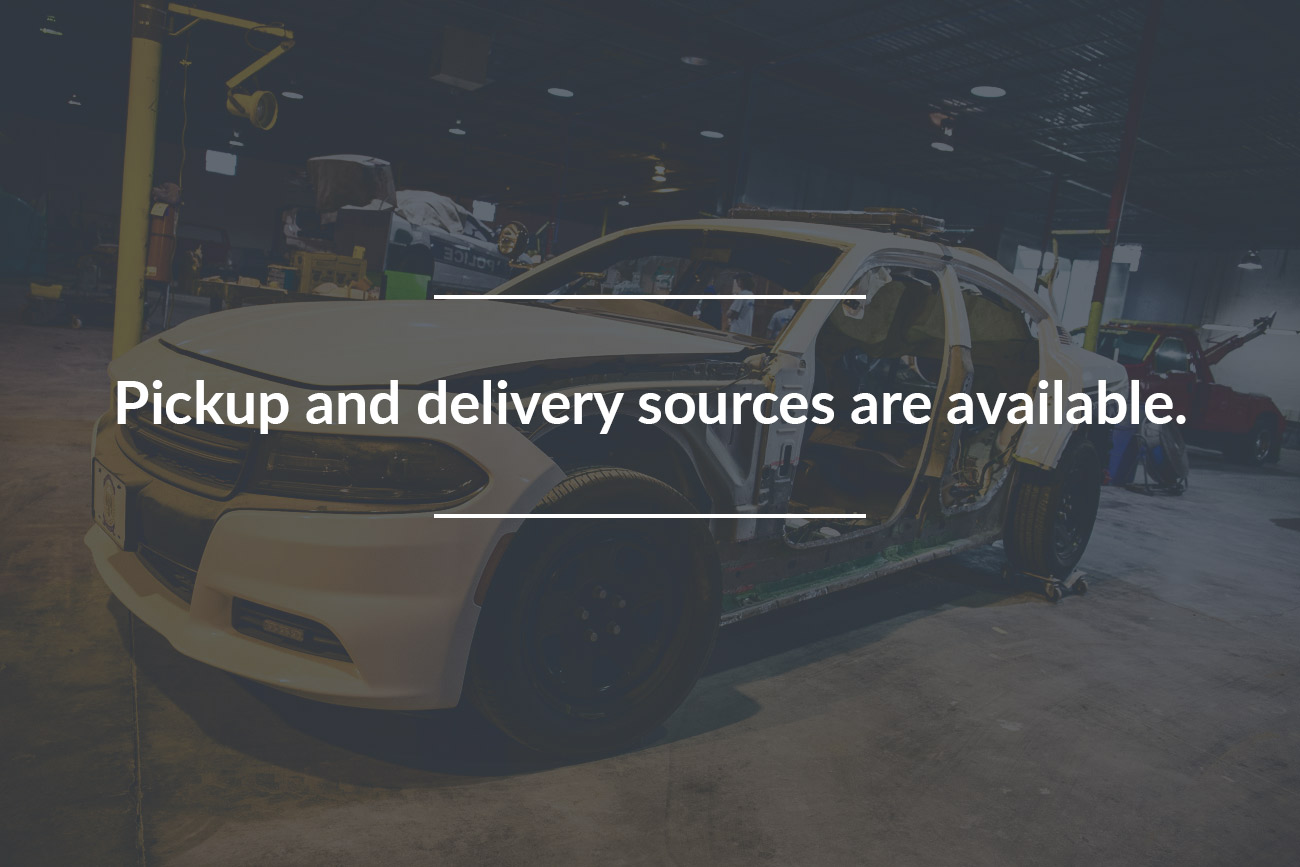Automotive Collision Repair Auto Body Shop Pickup and delivery sources are available